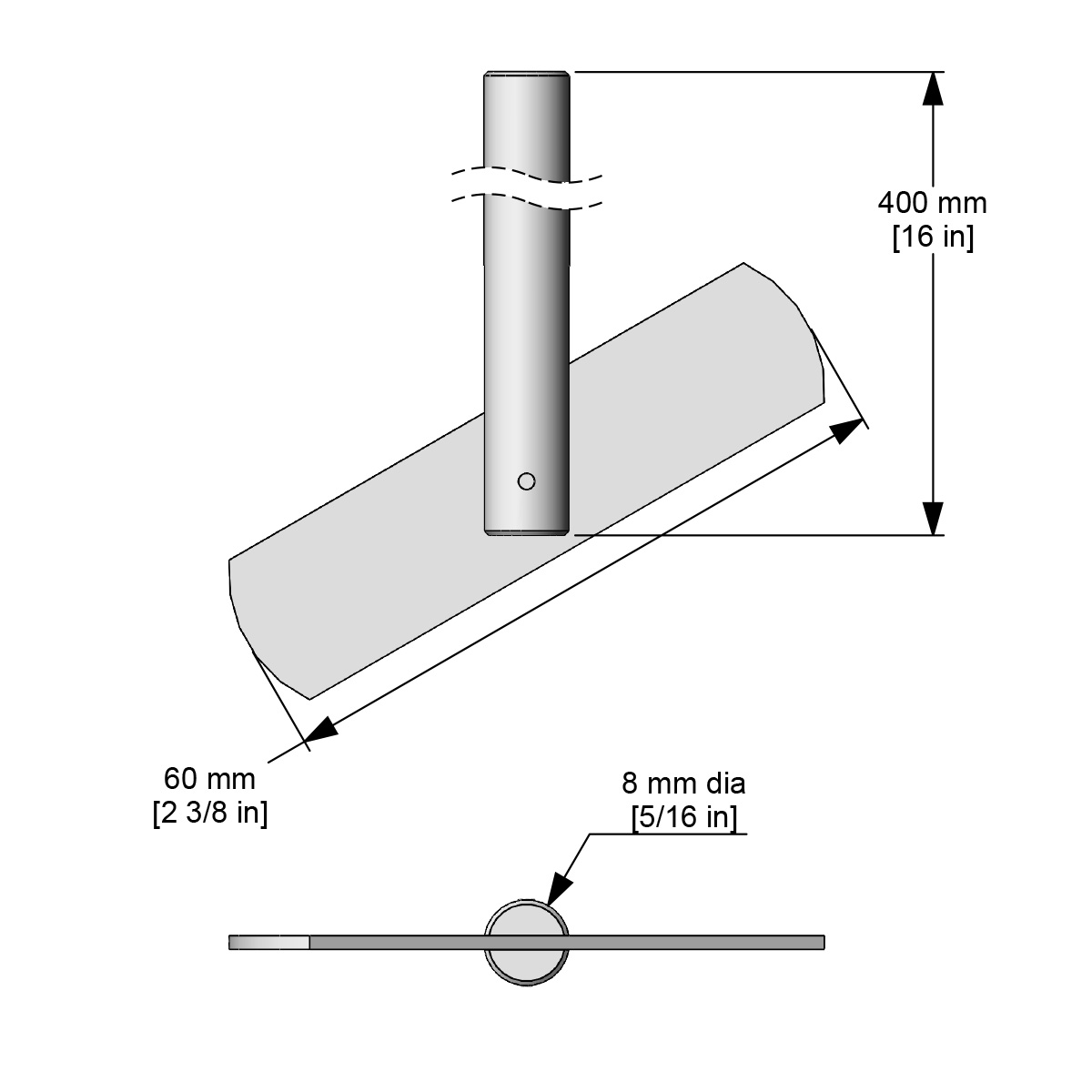 Caframo Pivoting Blade