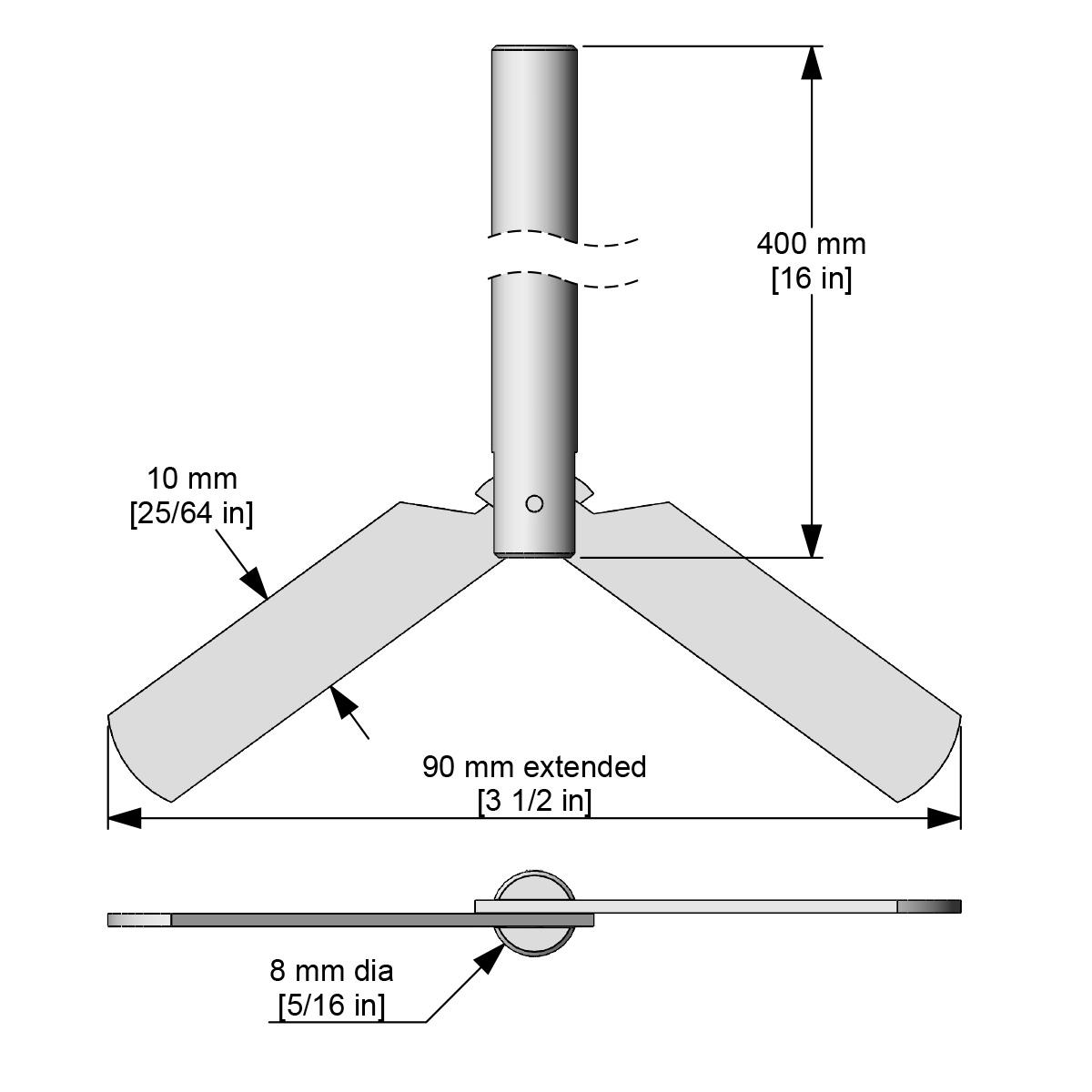 Caframo Collapsible Blade